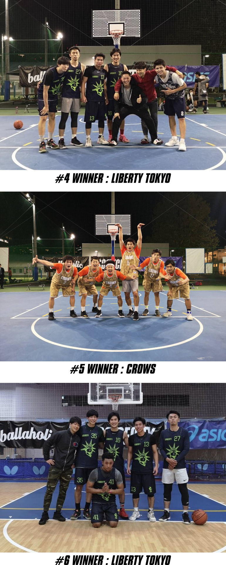 WHO'S GOT GAME? -STREET FIGHT #4,5,6 の結果について